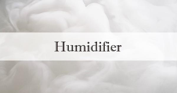 寝室に加湿器購入 | FURUHOUSE