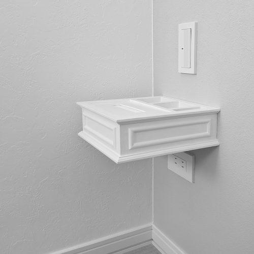 壁掛けディッシュボックス