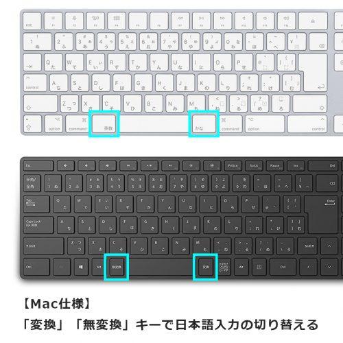 【Mac仕様】「変換」「無変換」キーで日本語入力の切り替える
